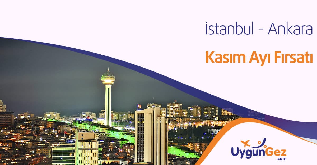 istanbul ankara uçak bileti fırsatları