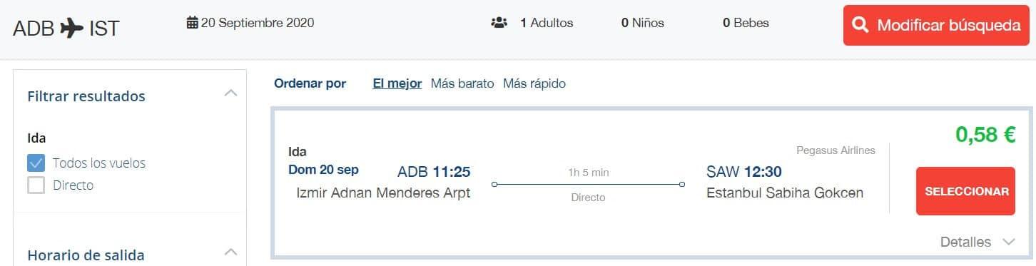 izmir istanbul uçak bileti indirimi ve fiyatı