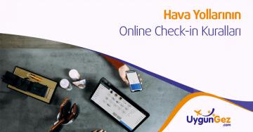 online check-in kuralları
