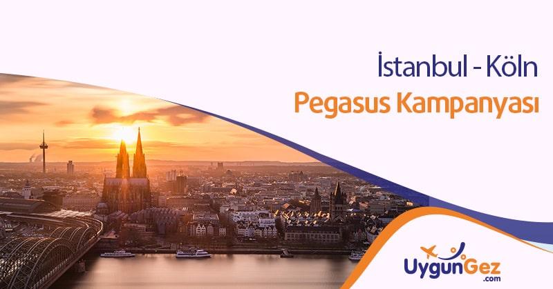 İstanbul Köln Uçak bileti Kampanyası için banner