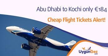 cheap abu dhabi to kochi