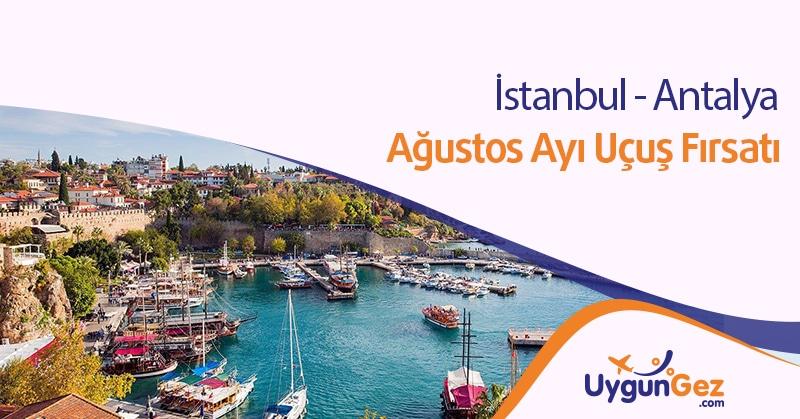 İstanbul Antalya Uygun Uçuş