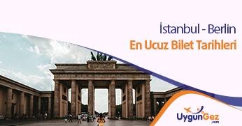 İstanbul Berlin uygun fiyatlı uçak bileti