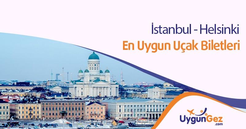 İstanbul Helsinki uygun uçak bileti