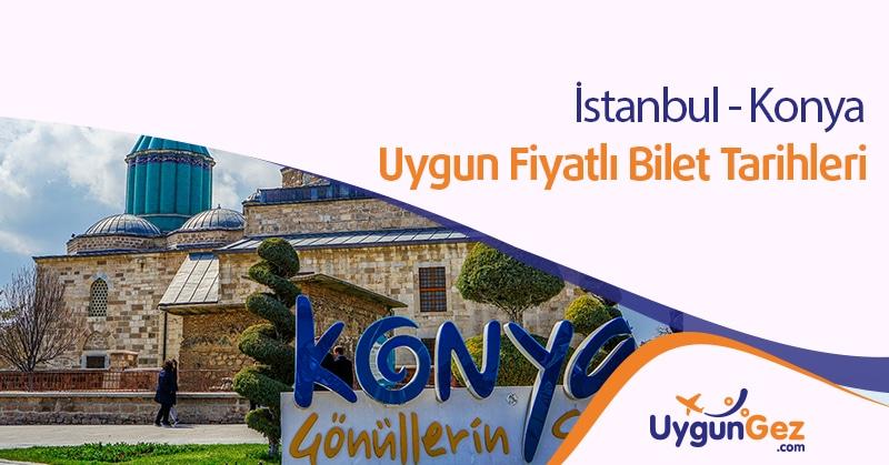 İstanbul Konya Seyahat fırsatı uygun fiyatlı bilet