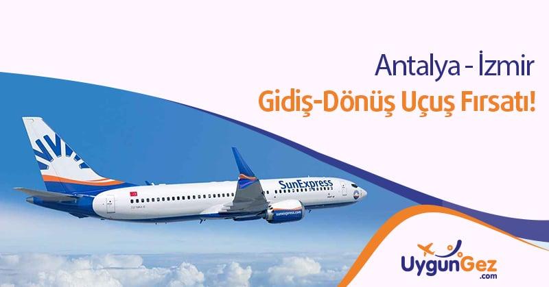Antalya İzmir bilet fırsatı