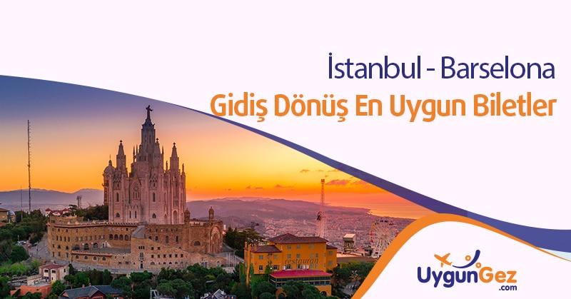 İstanbul Barselona uçak bileti