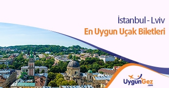 İstanbul Lviv en uygun uçak bileti