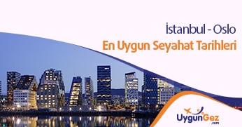 İstanbul Oslo ucuz uçuşlar. En uygun seyahat fırsatları