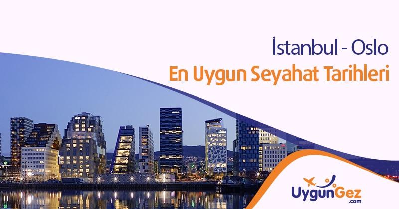 İstanbul Oslo ucuz uçuşlar ve seyahat fırsatı
