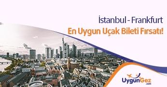 İstanbul Frankfurt arası uygun bilet fırsatı