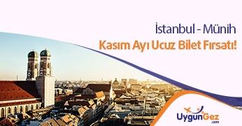 İstanbul Münih arası uçak bileti fırsatı