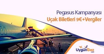 Pegasus yurt dışı bilet fırsatı