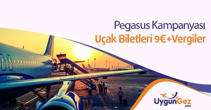 Pegasus Yurt Dışı Uçak Bileti Kampanyası