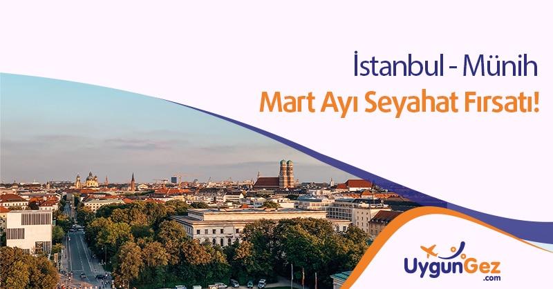 İstanbul Münih Arası En Ucuz Uçak Bileti