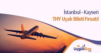 İstanbul Kayseri ucuz uçak bileti fırsatı
