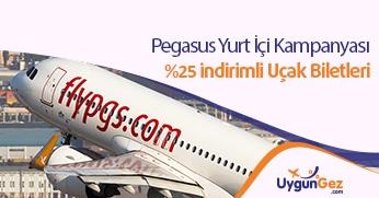 Pegasus indirimli uçak biletleri