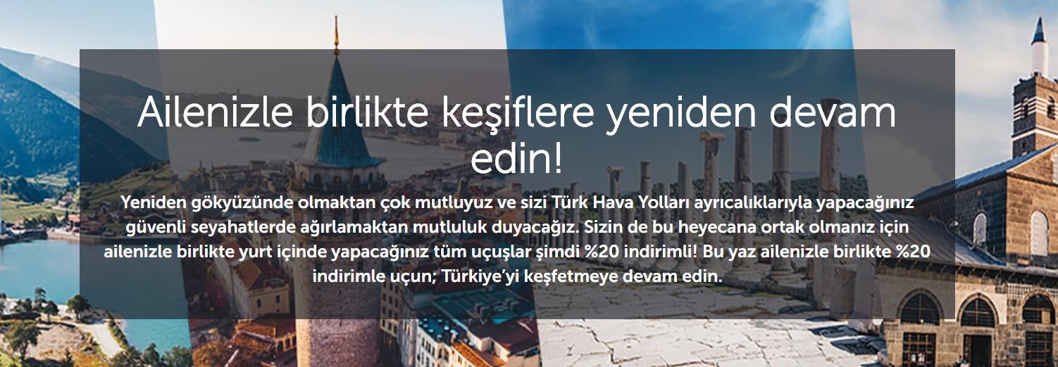 Türk Hava Yolları aile seyahat fırsatı