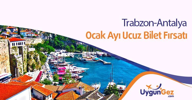 Trabzon Antalya Uçak Bileti Fırsatı