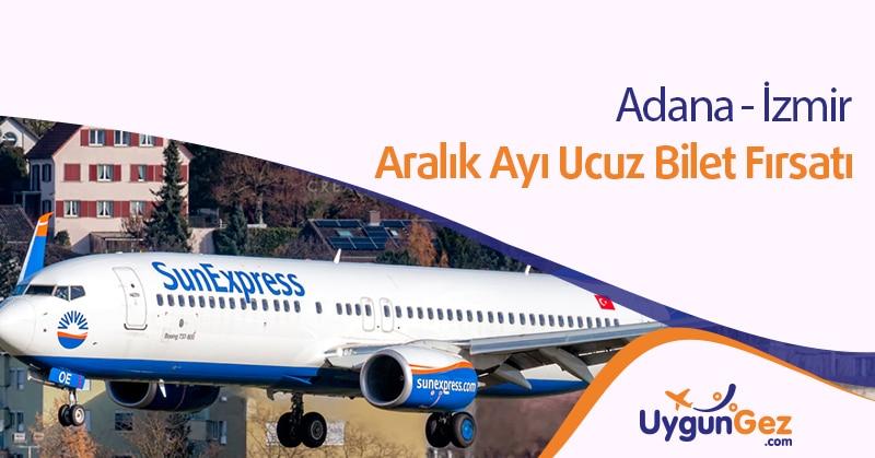 Adana İzmir En Uygun Uçak Bileti