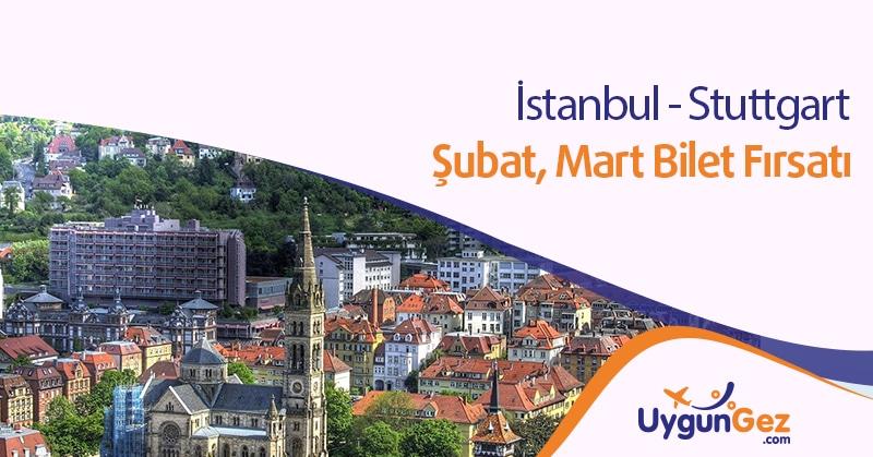 İstanbul Stuttgart Bilet Fırsatı