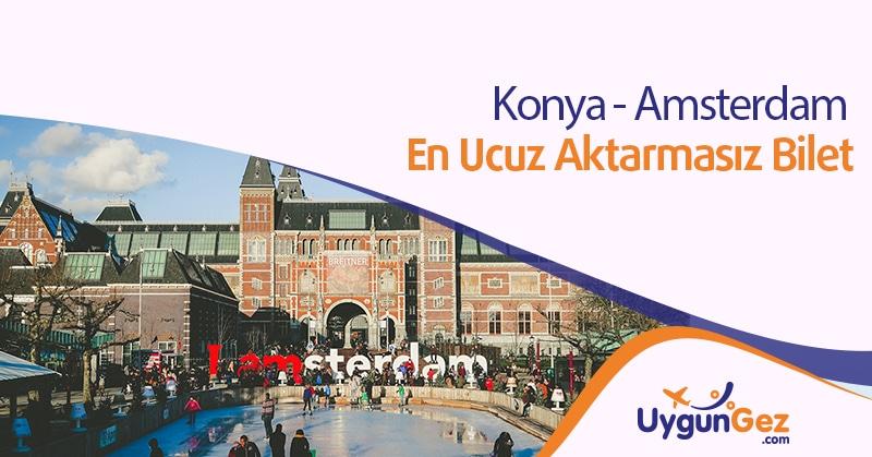 Amsterdam en ucuz bilet fırsatı